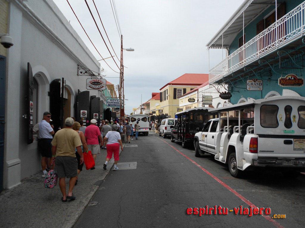 Main Street Charlotte Amalie Saint Thomas