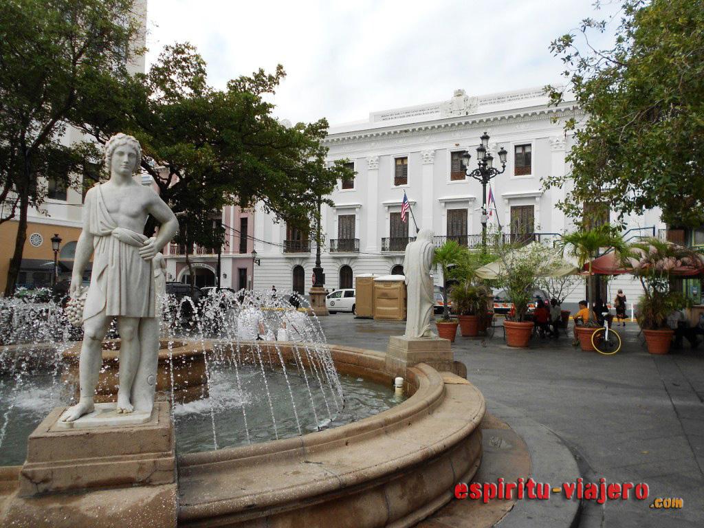 Plaza de Armas Old San Juan de Puerto Rico