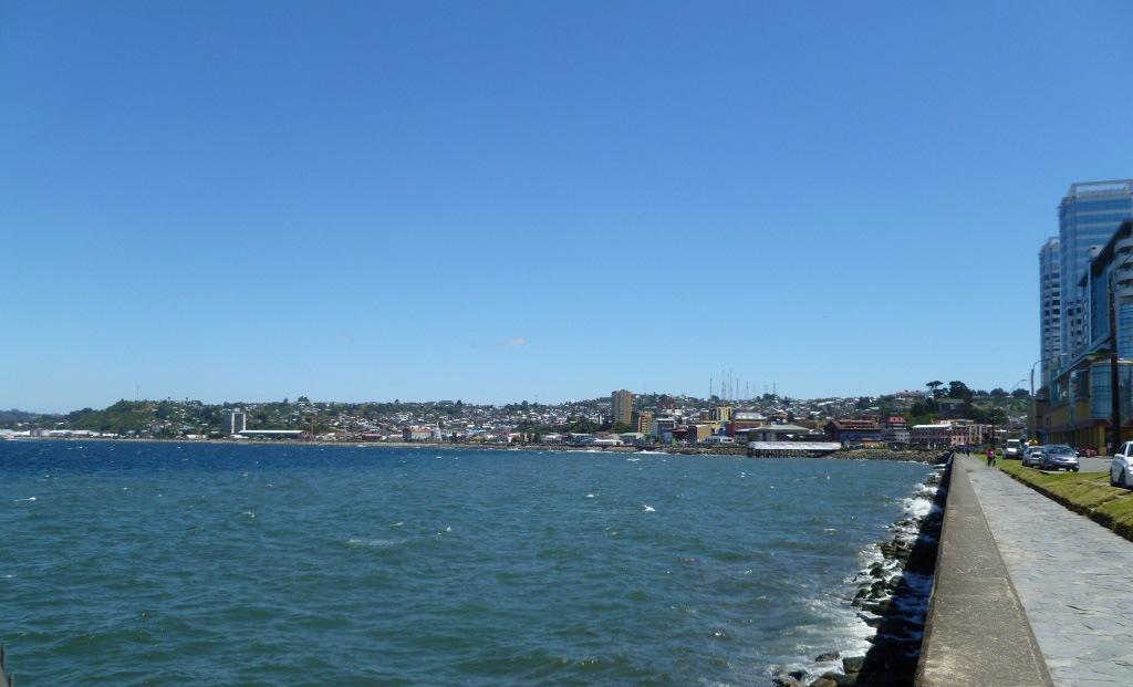 Bahía de Puerto Montt Chile