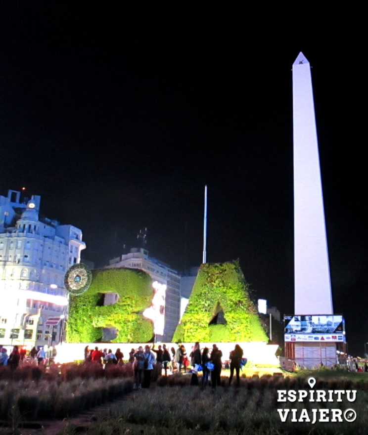 Obelisco Bicentenario Buenos Aires Argentina
