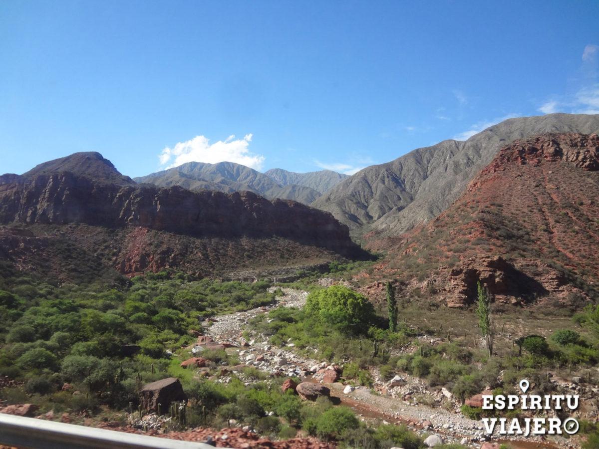 rutas argentinas cuesta de miranda la rioja