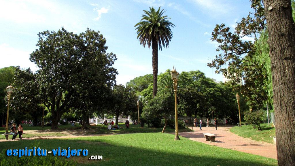parques y plazas de buenos aires