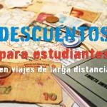 Descuentos para estudiantes en transportes de larga distancia