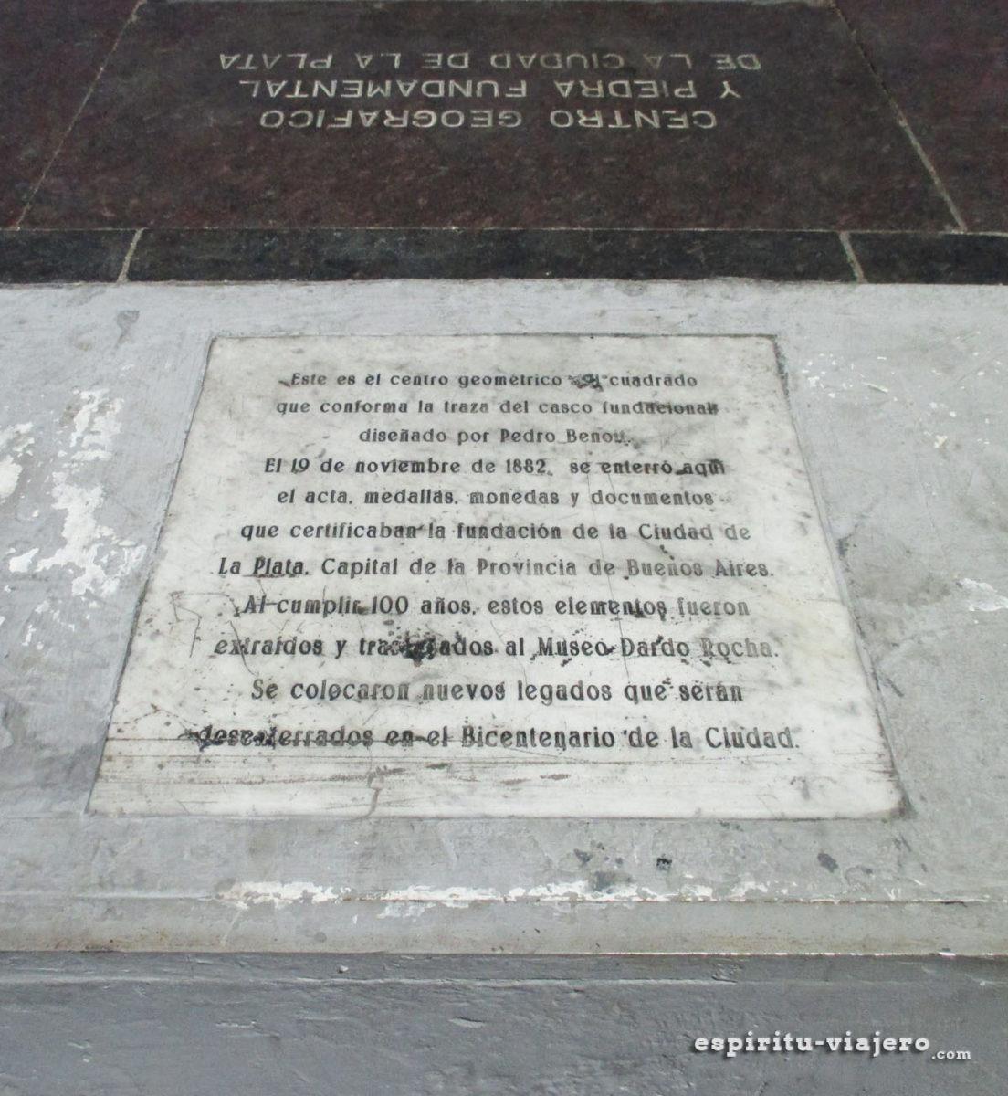 Plaza Moreno La Plata