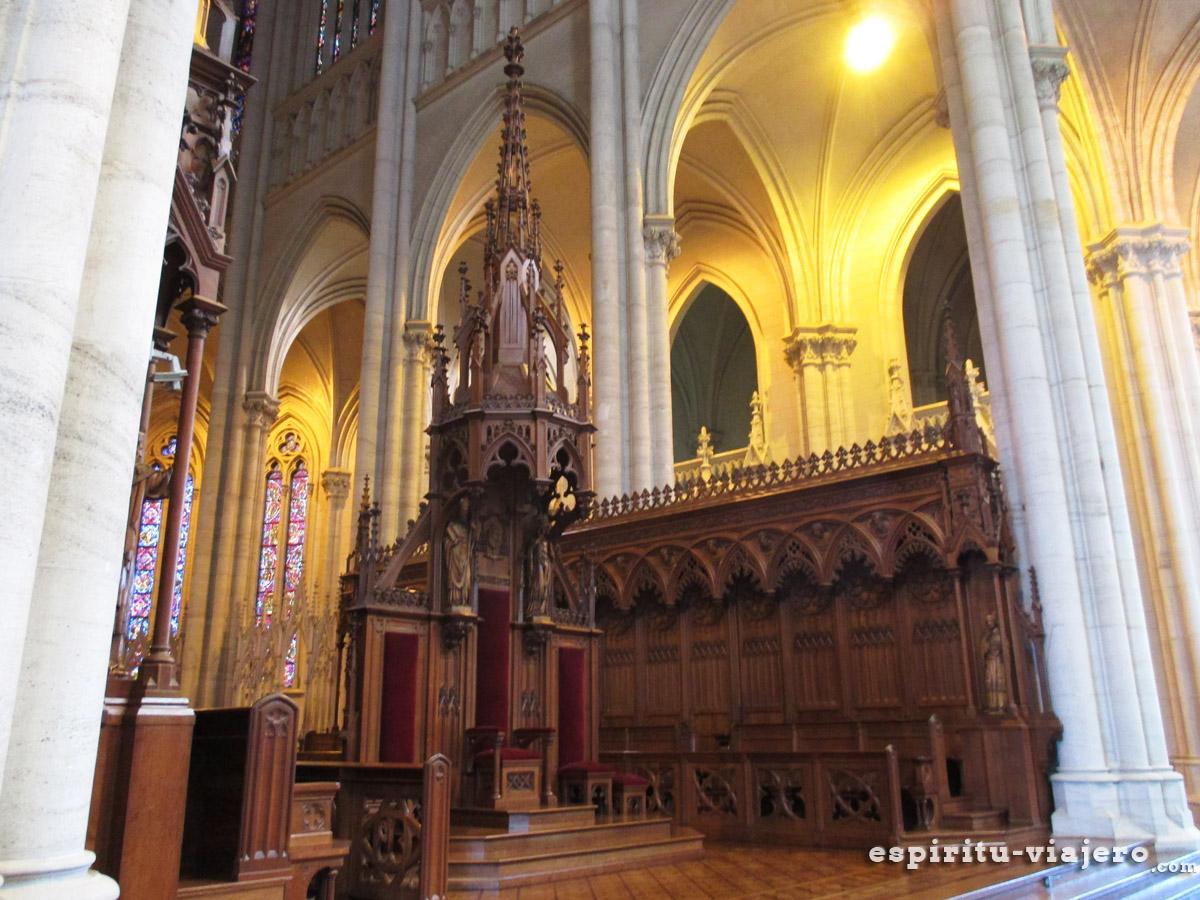 altar catedral de la plata