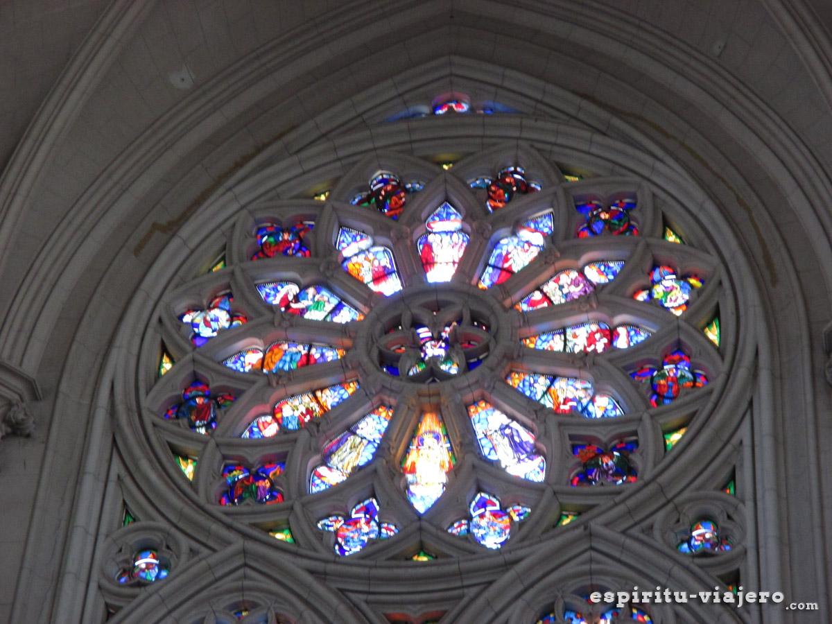 Roseton catedral de la plata
