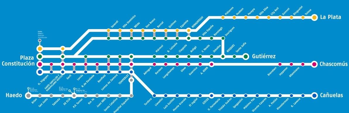 Tren Roca Constitucion Buenos Aires