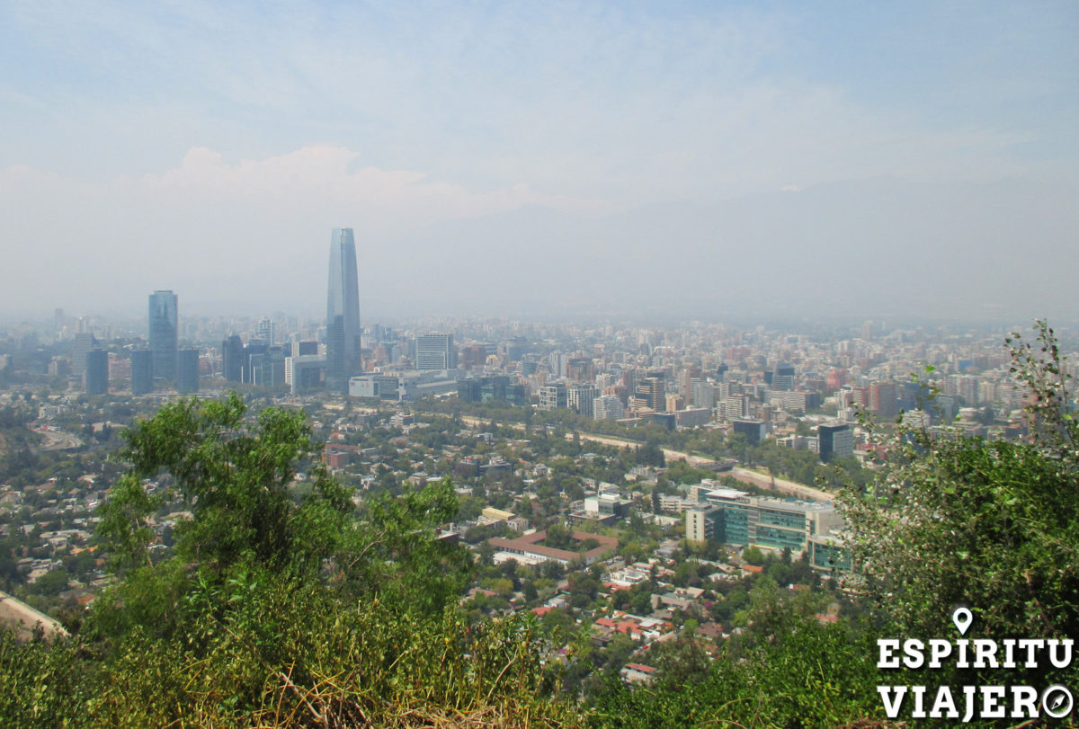 Santiago desde Cerro San Cristóbal