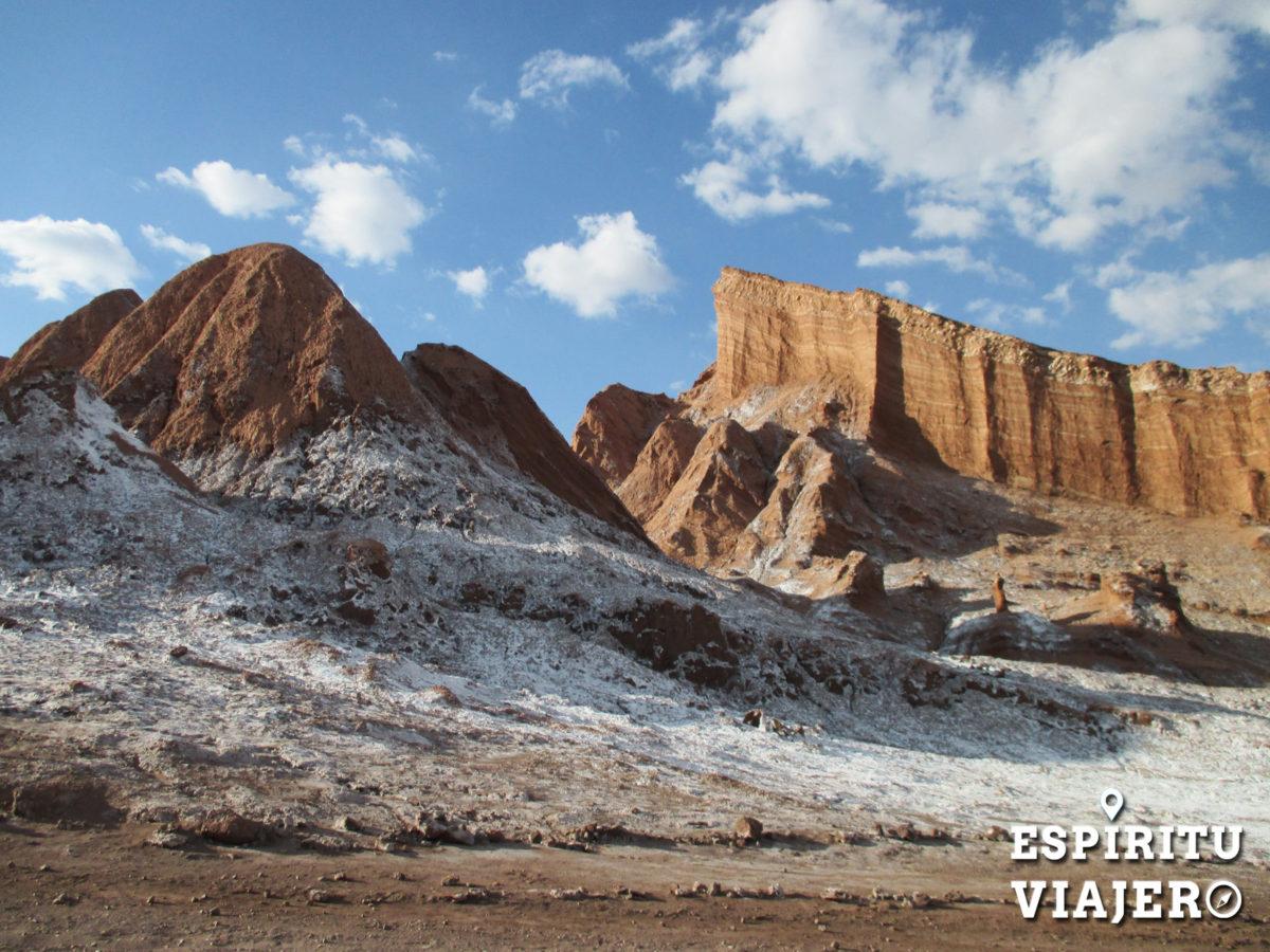 Valle de la luna Chile viajar solo