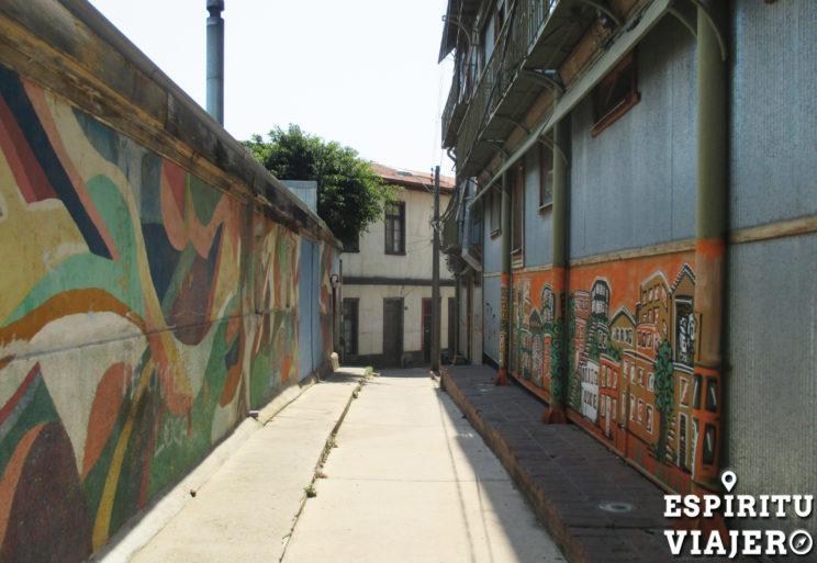 Pasaje Epicuro Valparaíso