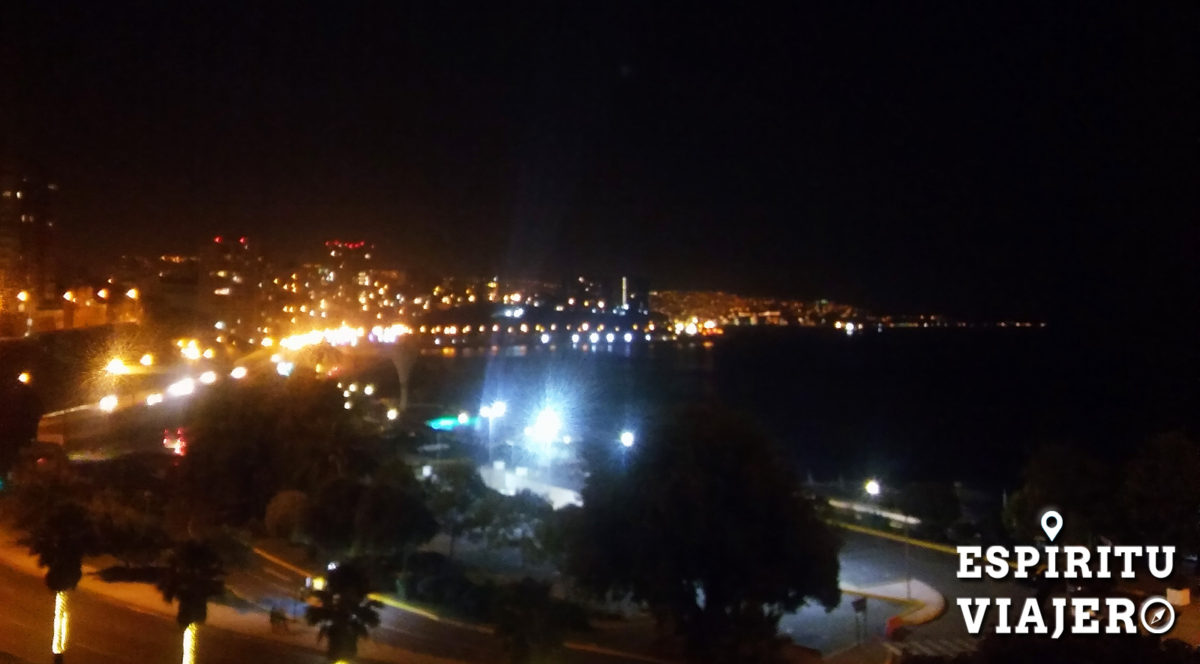 Viña del mar at night