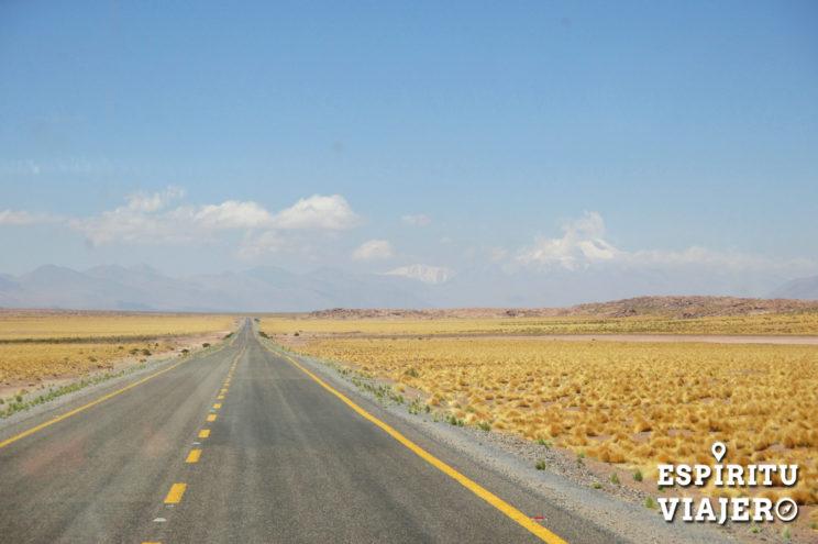 Ruta San Pedro de Atacama Chile