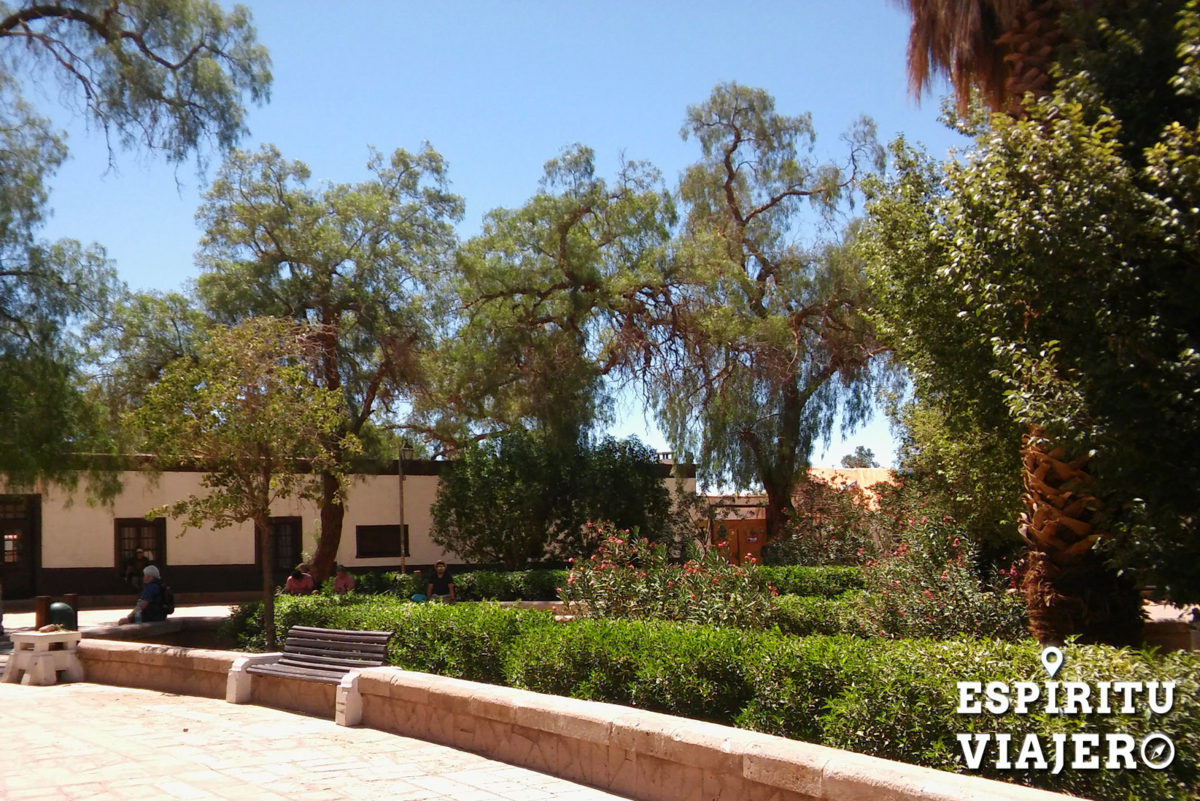 San Pedro de Atacama Chile plaza