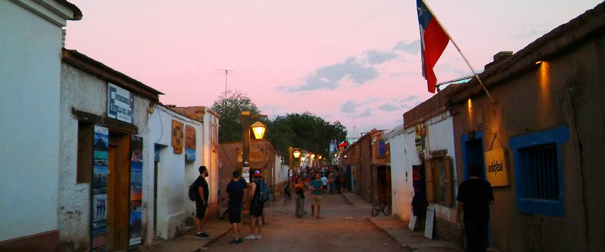 UN OASIS DE VIAJEROS EN CHILE
