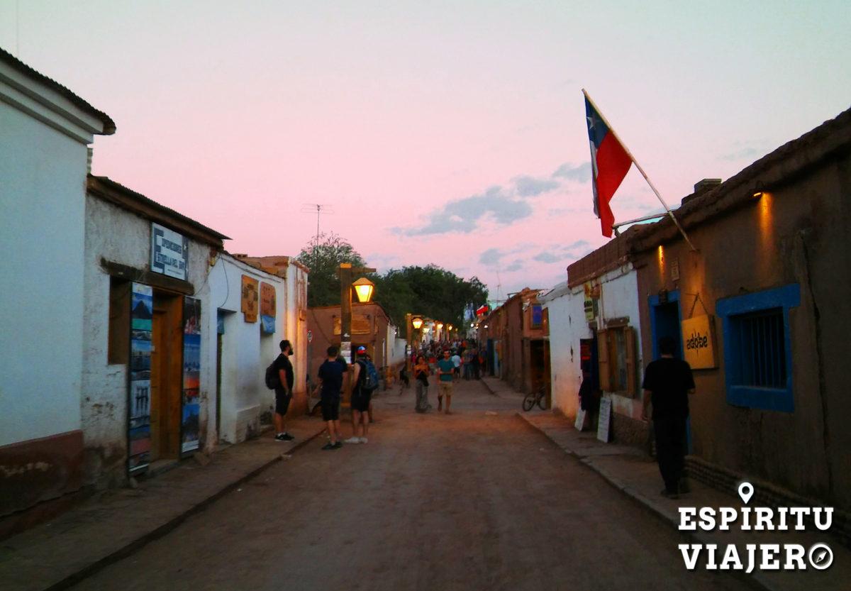 Atardecer en San Pedro de Atacama