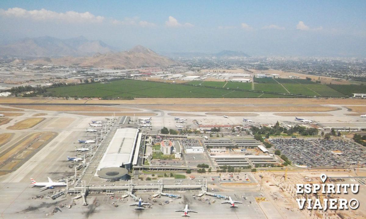 Aeropuerto de Santiago Chile