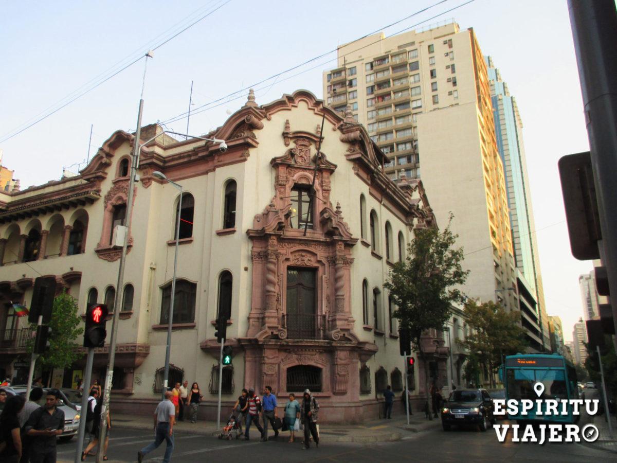 Centro santiago chile esp ritu viajero for Papeles murales en santiago de chile