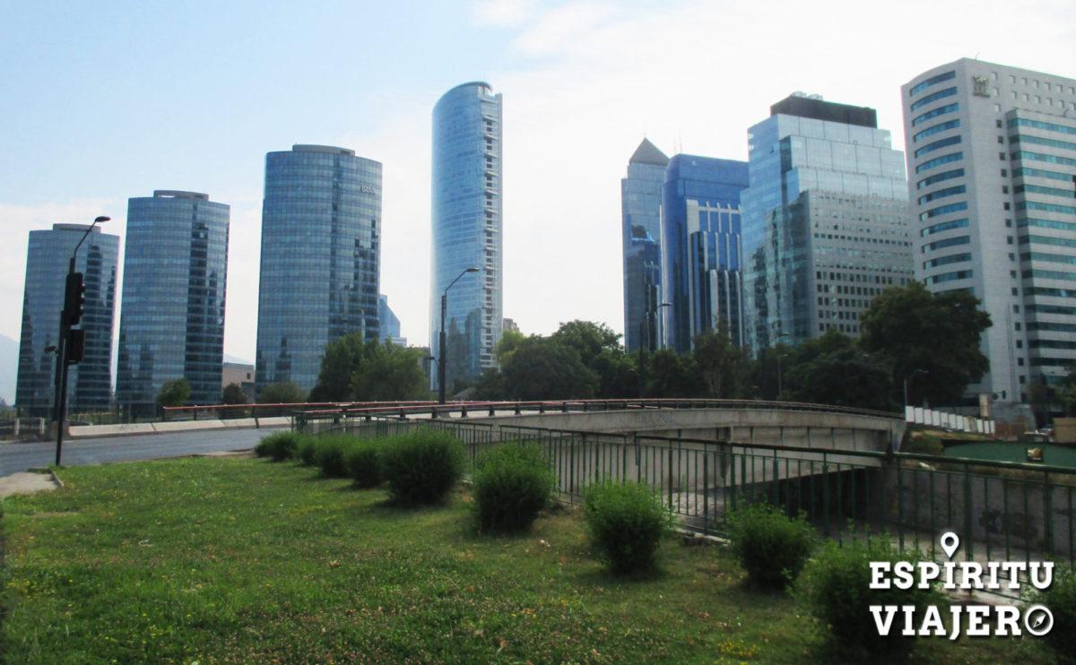 Providencia skyline Santiago