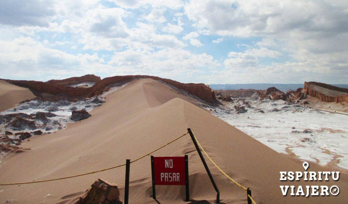 dunas valle de la luna atacama
