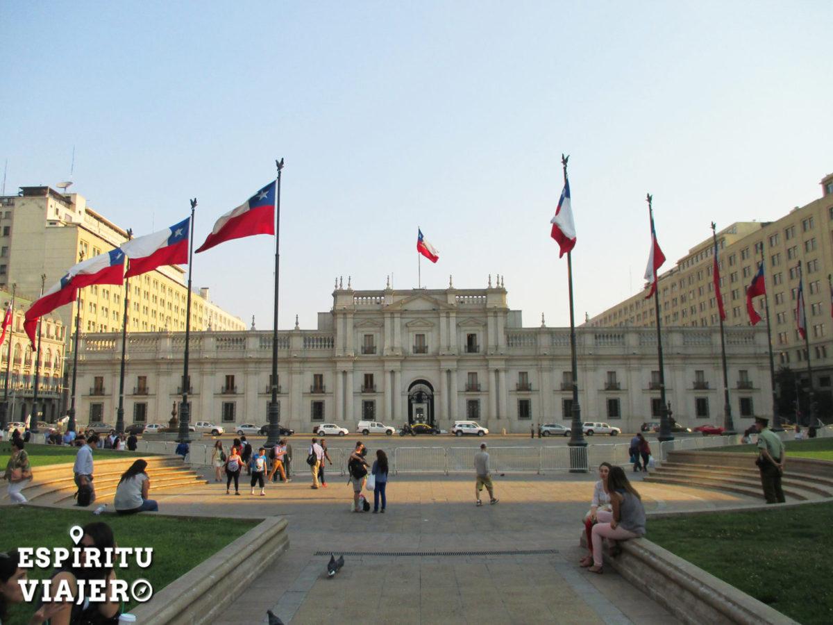 palacio de la moneda santiago chile