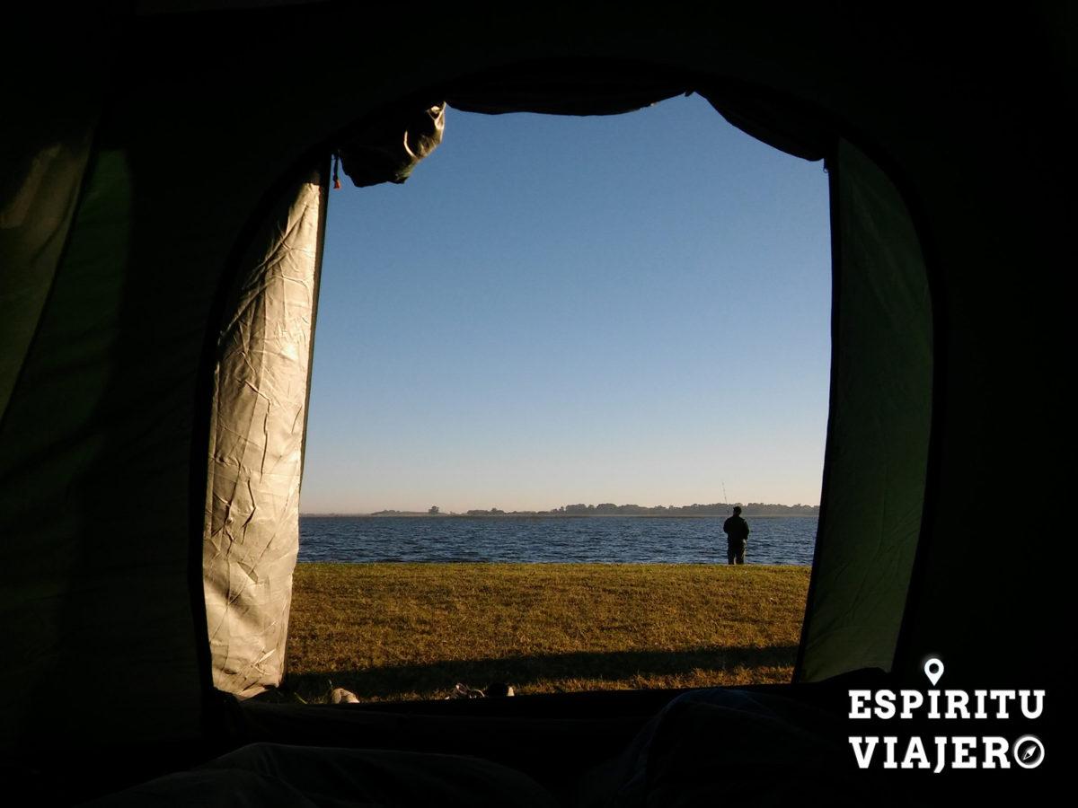Camping laguna Vitel Chascomus pueblos de buenos aires