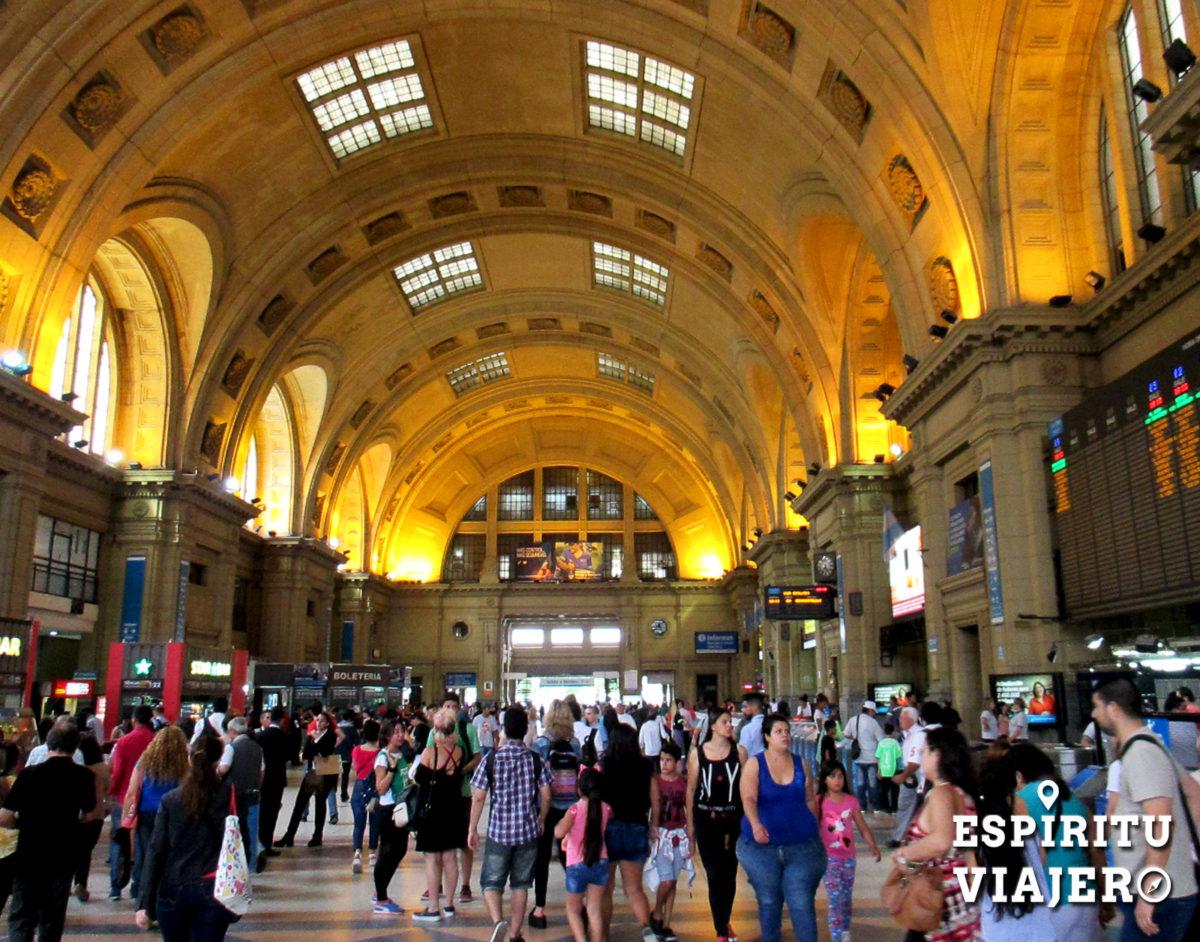 Estación Constitución Buenos Aires 2016