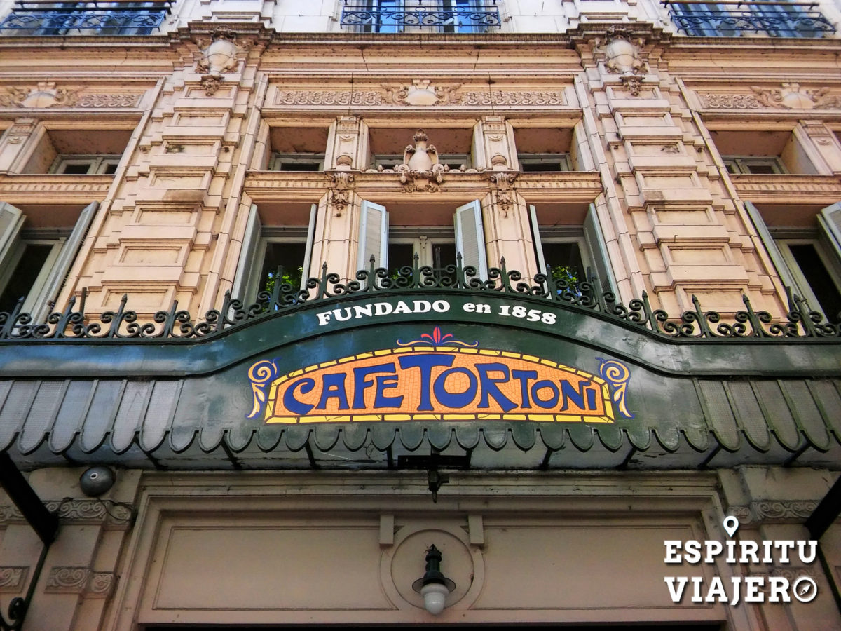 Casco historico Buenos Aires Cafe Tortoni