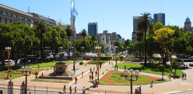 Plaza de Mayo casco histórico Buenos Aires