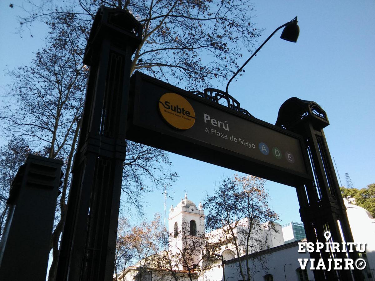 Subte Linea A Buenos Aires