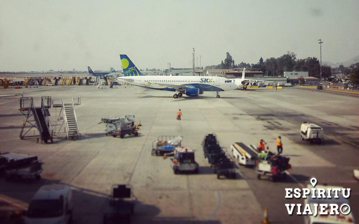 A319 de Sky Airline aerolineas low cost
