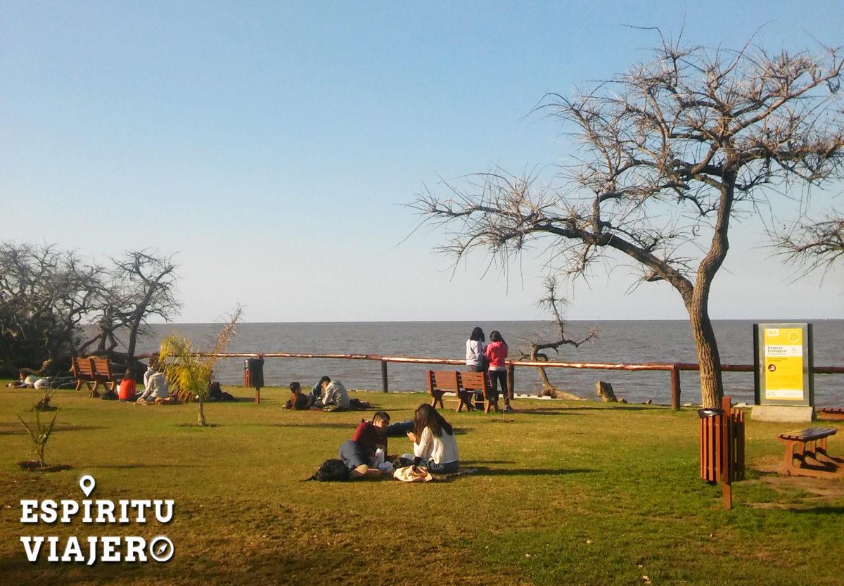 Playa reserva ecológica Puerto Madero Buenos Aires