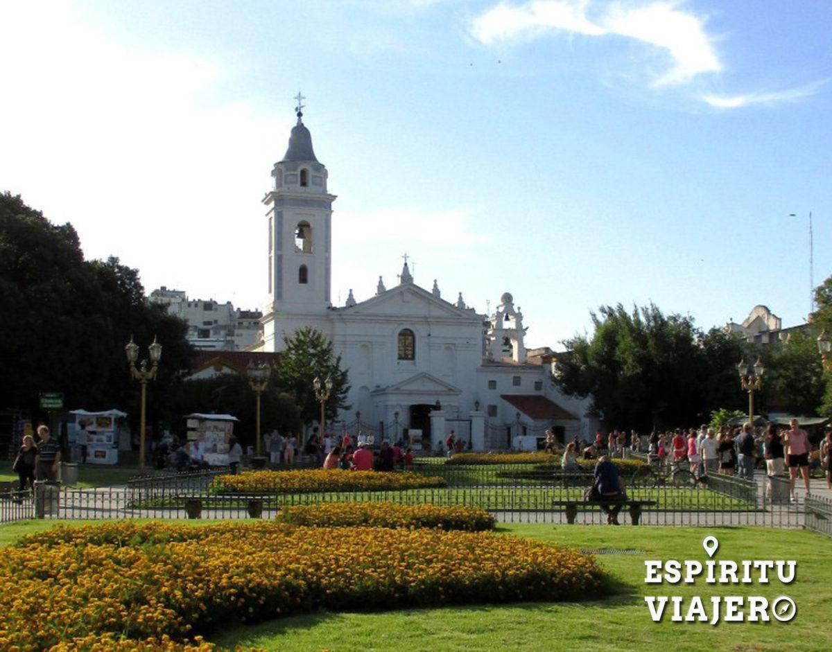 Plaza Alvear Recoleta