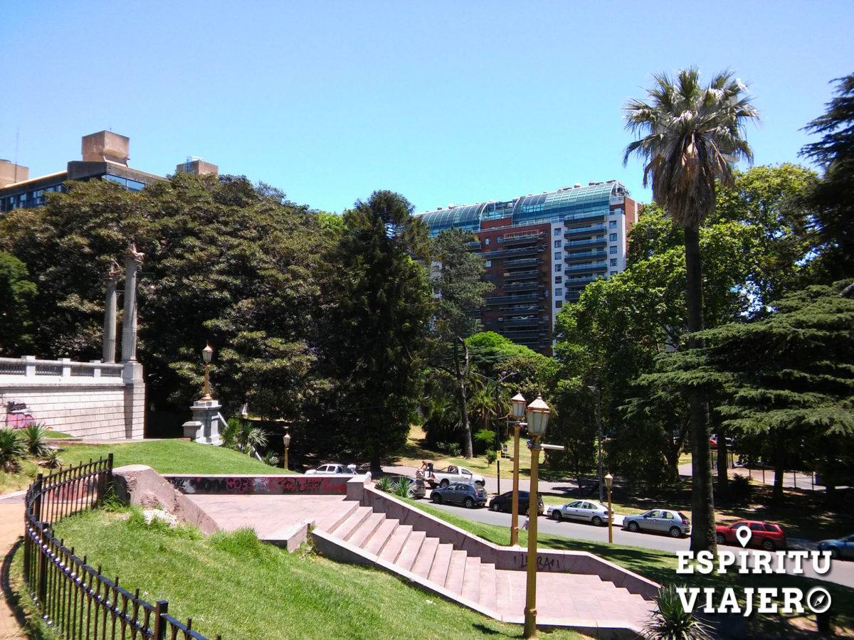 Plaza Mitre Recoleta Buenos Aires